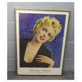 Framed 20x28 Marilyn Monroe Print