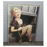 Framed Marilyn Monroe Print 28x40