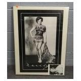 Framed Marilyn Monroe Print 18 X 24 W Extra Print