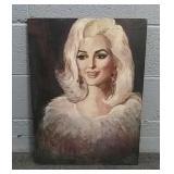 Marilyn Monroe Painting 18x24
