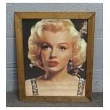 Framed Marilyn Monroe Print 17x21