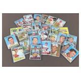 27x 1967 Topps Baseball Cards
