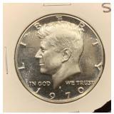 Scarce 1970 S Silver Kennedy Half Dollar Proof