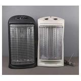 2x Quartz Type Heaters