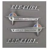 Lot Of Old Harley Davidson Emblems