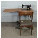 Singer Sewing Machine, Powers Up, Needs Service