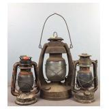 Lot Of 3 Prop Lanterns