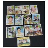 13 X Bid 1969 Topps Orioles Baseball Cards.