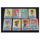 8 X Bid 1961 Fleer Baseball Greats Cards