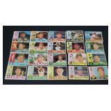20 X Bid Topps 1960 Baseball Cards