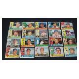 20 X Bid 1960 Topps Baseball Cards