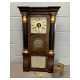 Antique Seth Thomas Triple Decker Shelf Clock