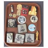 Marilyn Monroe Tins, Pins And More