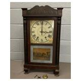 1812 Hopkins & Alfred Wood Works Clock