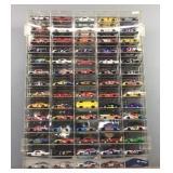 70x 1:64 Nascar Cars In Case