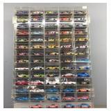 69x 1:64 Nascar Cars In Case