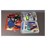 3x Tray Travel Pens, Lanyards, Magnets, Ear Buds