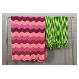 2 Handmade Blankets/throws