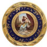 Royal Vienna Plaque - Romeo & Juliet