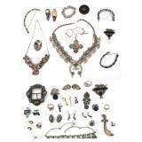 35 Pcs. Sterling Silver Estate Jewelry