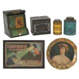 6 Pcs. Early Advertising Items