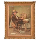 L.P. Stevens Portrait Of A Fisherman