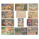 12 Frank Follmer Disney Watercolor Illustrations