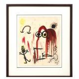 Attr. Joan Miro (Spanish, 1893-1983)
