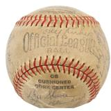 1960s New York Yankees Autographed Baseball