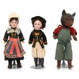 2 SFJB Size 60 And Freundlich Wolf Doll