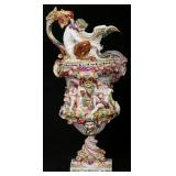 Capodimonte Porcelain Figural Ewer