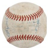 1980s Boston Red Sox Autographed Baseball
