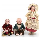 3 Dolls, SFBJ And Franz Schmidt