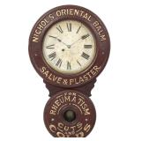 Baird Medicinal Advertising Clock