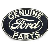 Genuine Ford Parts Automotive Sign