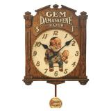 Gem Damaskeene Razor Advertising Wall Clock