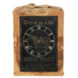 Durham Tobacco Advertising Clock