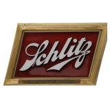 Schlitz Beer Advertising Sign