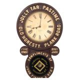 Early Baird Tobacco Advertising Clock