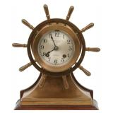 Chelsea Helm Ships Bell Mantle Clock