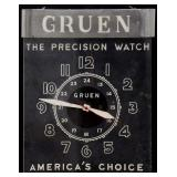 Gruen Electric Advertising Clock