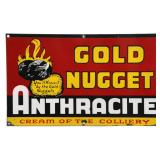 Anthracite Coal Mining Advertising Sign