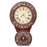 Baird Extract Advertising Clock