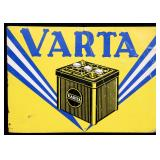 Vintage Varta Car Battery Sign