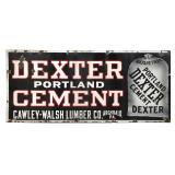 Dexter Portland Cement Porcelain Sign
