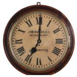 English Fusee Tavern Clock