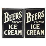 Pr. Double Sided Ice Cream Advertising Signs