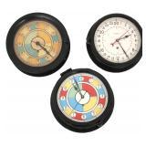 3 Chelsea & Seth Thomas Military Clocks
