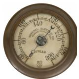 8 in. Ashcroft Mfg. Co. Brass Steam Gauge