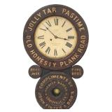 Rare Transitional Baird Advertising Clock